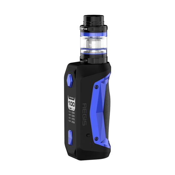 Geekvape Aegis Solo 100W TC Kit with Cerberus Tank Color: Blue | Type: 2ml TPD Edition low price