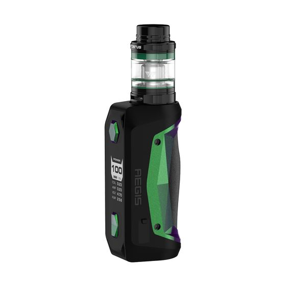shop online Geekvape Aegis Solo 100W TC Kit with Cerberus Tank Color: Green | Type: 2ml TPD Edition