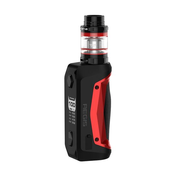 cheap Geekvape Aegis Solo 100W TC Kit with Cerberus Tank Color: Red | Type: 2ml TPD Edition