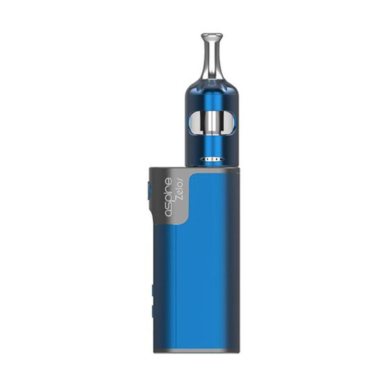 authentic Aspire Zelos 2.0 50W TC Kit with Nautilus 2S 2500mAh Color: Blue | Type: 2ml TPD Edition with Child Lock